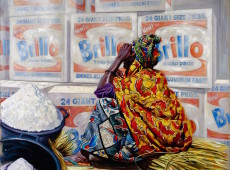 Brillo Olio su tela Cm. 120x150