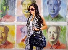 Mao Tse Tung Olio su tela Cm.120x150