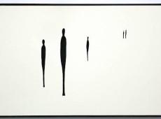 Sguardi d'ombra_tentativo n°11 Materiale Legno, acrilico, ombra, ferrocotto. Cm 30x48,5x3
